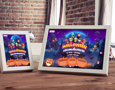 Halloween Event - AEONMALL HA DONG