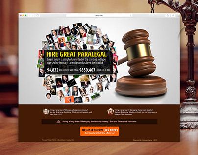 Pure Legal Splash Page