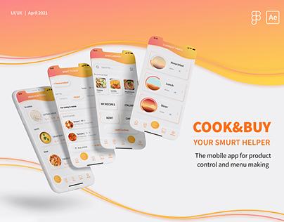 Cook&Buy mobile app
