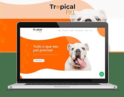 Website - Tropical Pet