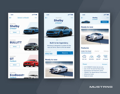 Ford Mustang Mobile App