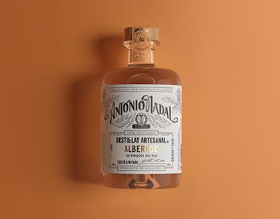 Antonio Nadal Destil·lats - Bottle and Label Design