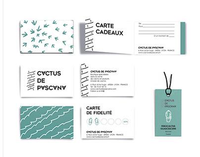 Cactus de Pascana - Identité visuelle