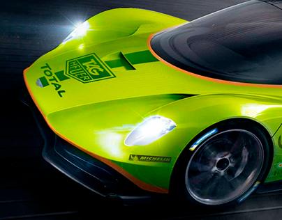 Aston Martin RB003 livery concept
