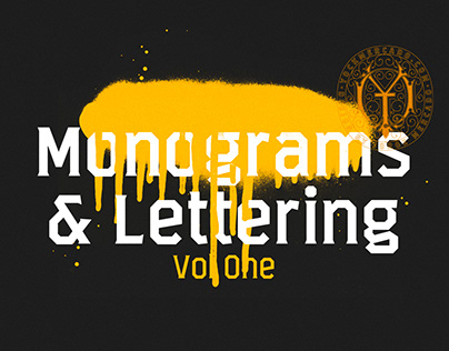 Monograms & Lettering Vol. 1