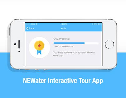 Interactive Tour App Design