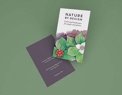Nature by Design Branding