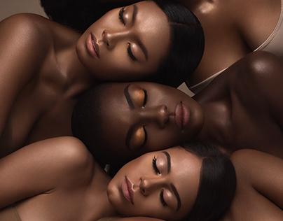 Iman Cosmetics Campaign