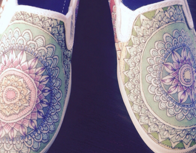 ::Bright Eyes-Shoe Design::