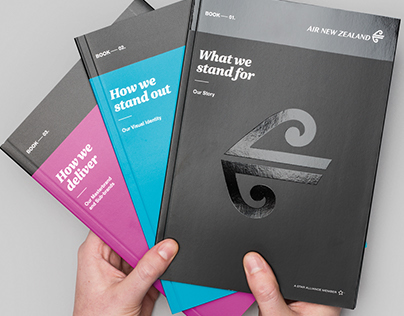 Air New Zealand Brand Books