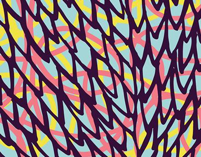 Feather Jacket - Illustration