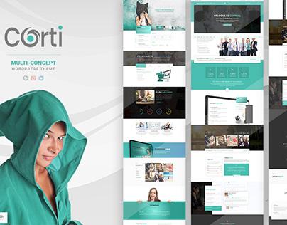 Corti - Multi-Concept WordPress Theme