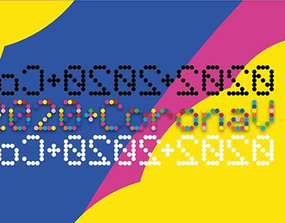 1033_ART | Digital, Dot Matrix CoronaV