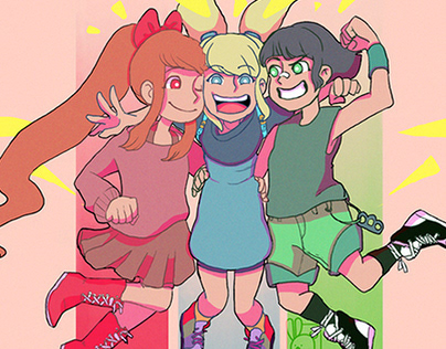 Powerpuff Girls - Fanart