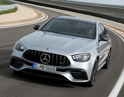 the new Mercedes car in Arabic