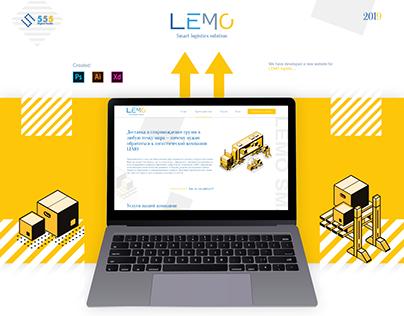 "Landing Page ""Lemo-Logistics"""