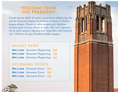 Academic Website Design