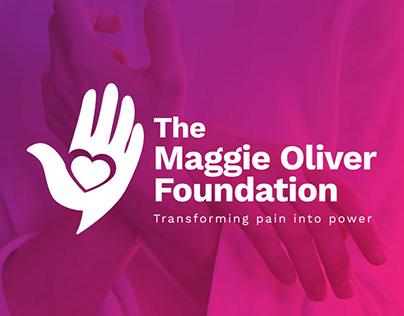 BRAND DESIGN & LOGO THE MAGGIE OLIVER FOUNDATION