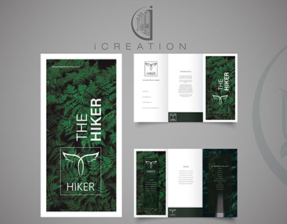 Brochure Design Fro The Hiker