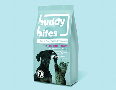 Buddy Bites. Cat & Dog Friendly Treats