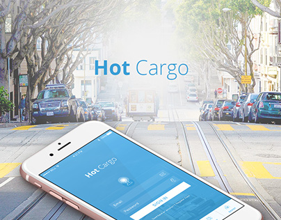Hot Cargo - Mobile App Design