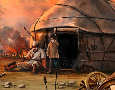 Interactive Children's Book of Epic Manas