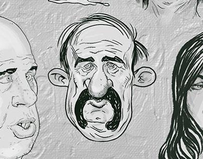 Outrageous Doodle Spread