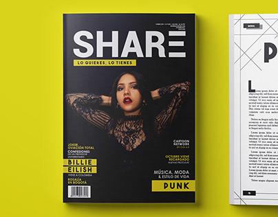 SHARE   Revista - 2da edición