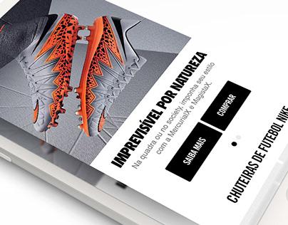 Nike Mobile & responsive