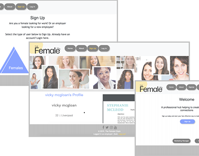 Female Chain Website