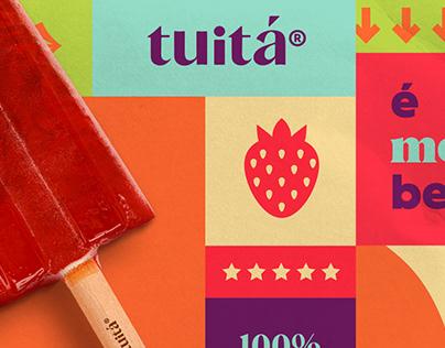 Tuitá: Uma marca brasileira de sorvetes.
