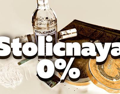 Stolichnaya Non-alcoholic Vodka