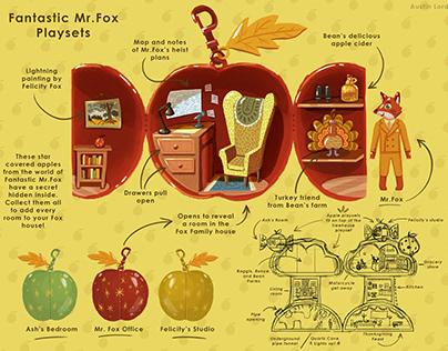 Fantastic Mr. Fox Playset