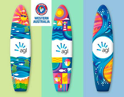 Surf Life Saving WA Nipper Board Designs