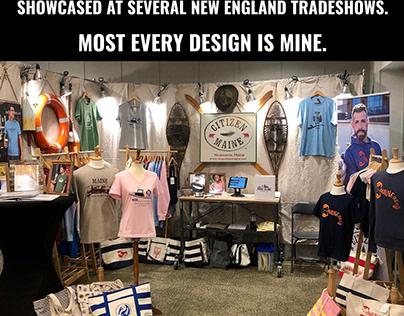 New England T-shirt Designs