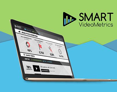 Smart Video Metrics Web Design + Logo