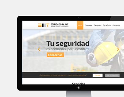 Edificadora MT (Branding + Website)