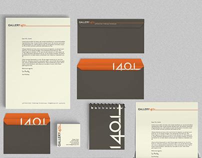 Gallery 1401, Branding Project