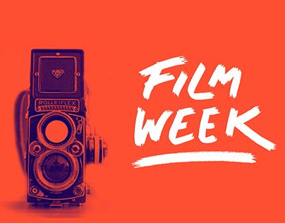 Film Week Promo Design + Animation