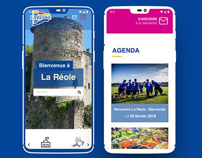 Web Design - La Réole