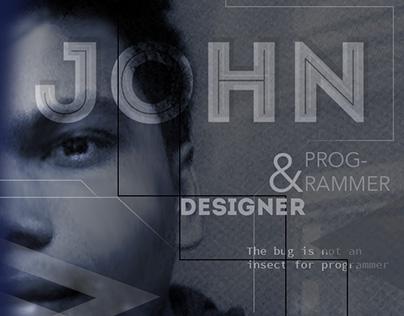 Cine Portrait Poster Design