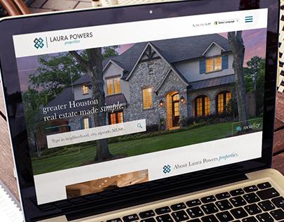 Laura Powers Wordpress Website Design