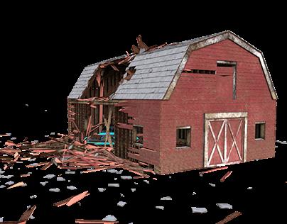 Barn Destruction