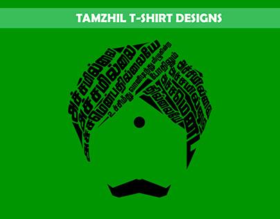 TAMZHIL T-SHIRT DESIGNS