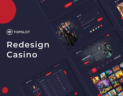 Redesign casino Top Slot