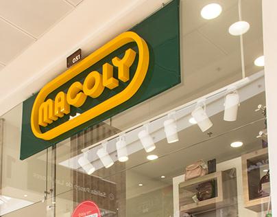 Macoly - Centro Comercial Casablanca , Madrid C/namarca