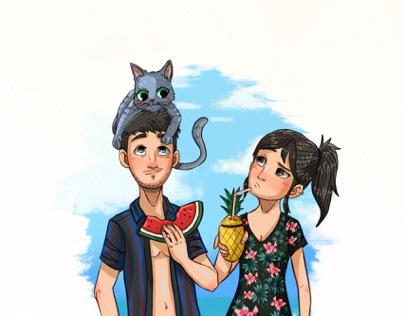 Summer, Love & Cats