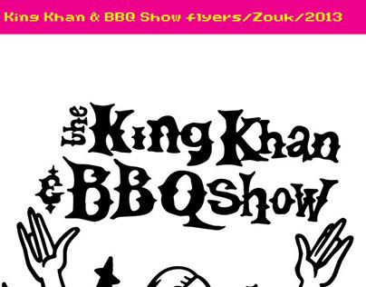 Zouk flyer2013/KingKhan & BBQ Show