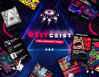 Weltgeist - Viral Magazine Theme