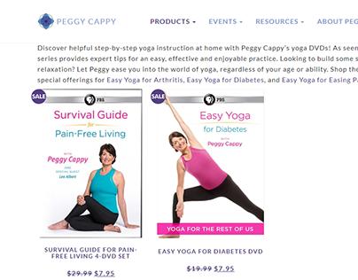 Yoga   physical Ecommerce website